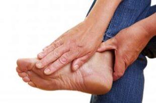 صورة علاج الام باطن القدم