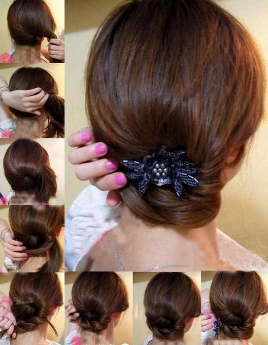 صورة بالصور تسريحات شعر بسيطة
