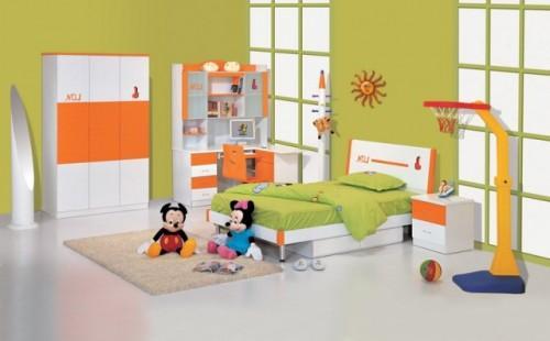 صور احدث ديكور غرف نوم اطفال