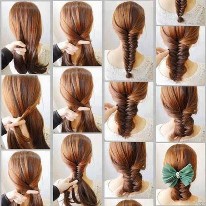 صورة بالصور تعليم تسريحات الشعر