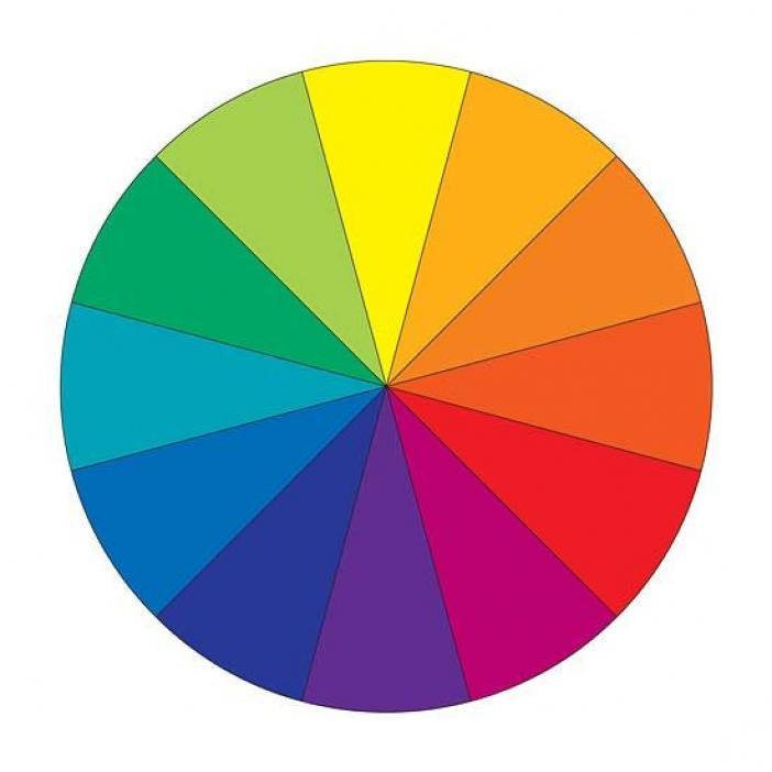 - Show color wheel ...