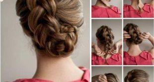 تسريحات الشعر السهلة