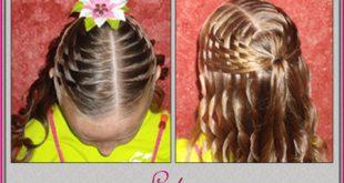 تسريحات شعر اطفال سهلة