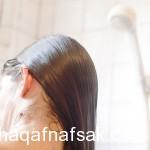 صورة كيفية مشط الشعر المتوسط
