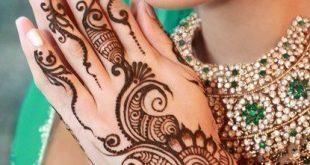 صور نقش حناء هندي روعه
