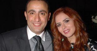صورة زوجة الفنان احمد السقا