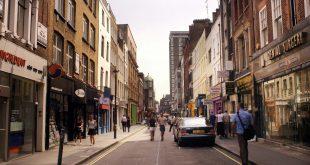 صورة حي سوهو في لندن