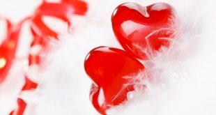 قلوب حمراء جميلة
