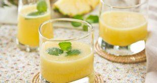 صورة البابونج للتخسيس مع الليمون