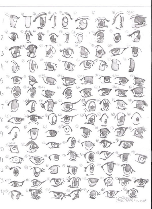 تعليم الرسم الانمي للمبتدئين صباح الخير