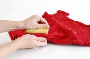 صورة كيفية ازالة بقع الشحم من على الملابس