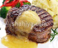 صور طريقة عمل صوص الستيك اللحم