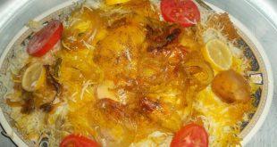 صورة دجاج مدفون