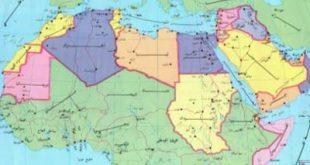 صورة خريطة الدول العربية