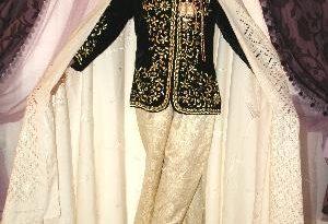 صورة اللباس الهندي للعروس الجزائرية