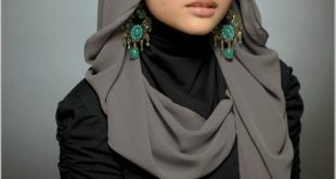 صورة لفات حجاب للوجه الدائري