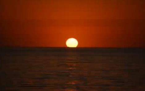 صور تعبير عن وصف غروب الشمس
