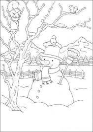 صور رسومات فصل الشتاء