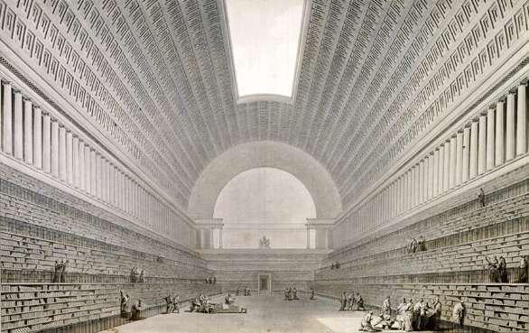 صورة مكتبة الاسكندرية القديمة