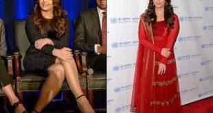 صورة الممثلة الهندية اشواريا بعد الولادة