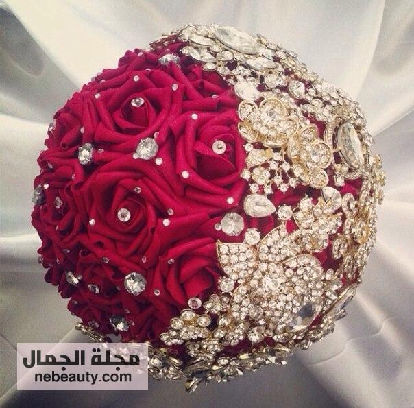 صورة باقات ورد للعروس