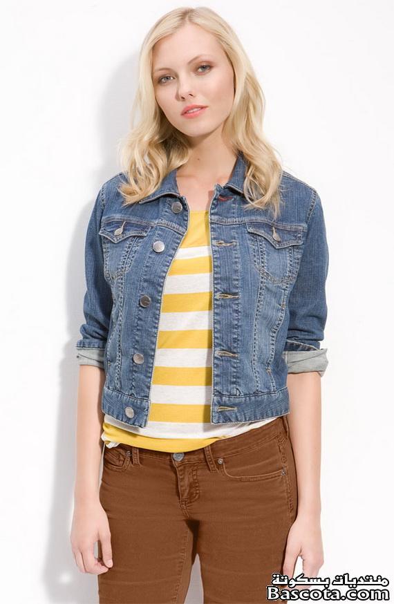 صورة ملابس بنات جينز