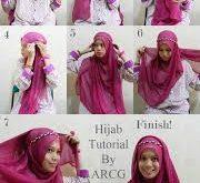 صورة احدث لفات الحجاب بالصور