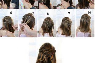 صورة كيفية تسريح الشعر بالصور