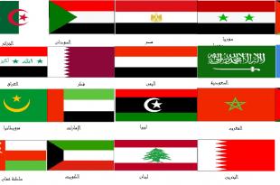 صورة جميع الدول العربية