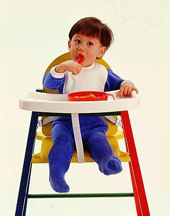 صورة كرسي طعام للاطفال