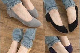 صورة احذية شتاء 2020 بدون كعب