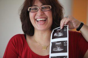صورة تحديد نوع الجنين من شكل كيس الحمل