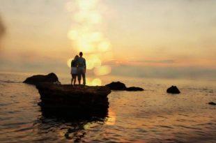صورة صورة على البحر