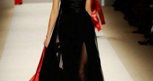 فستان زفاف اسود