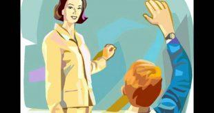 صورة قصص عن احترام المعلم