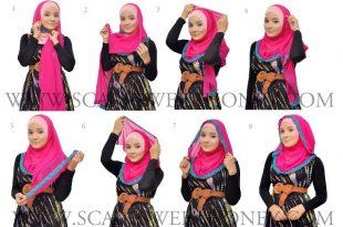 بالصور طرق جديدة للبس الحجاب 20160819 5900 1 310x205