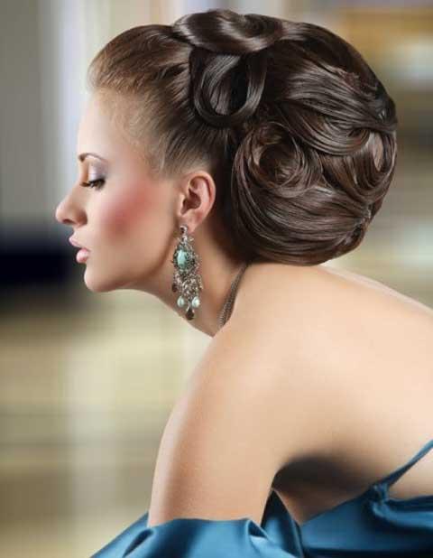 صورة تسريحات شعر للسهرة