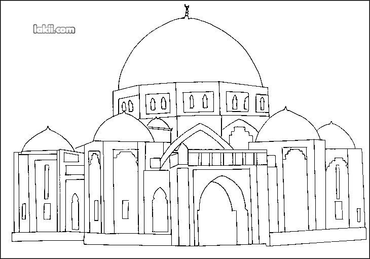 بالصور كيفية رسم مسجد 20160820 1136