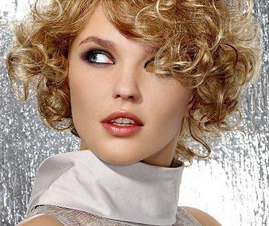 صور تسريحات الشعر المجعد