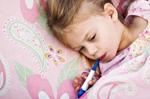 صورة علاج الحمى عند الاطفال بالاعشاب