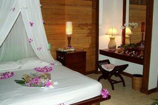 صورة غرف نوم للعرسان رومانسية