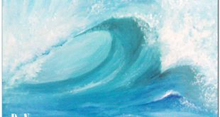 صور رسم امواج البحر