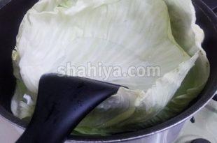 صورة كيفية طهي الكرنب