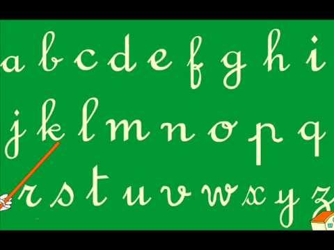 صورة حروف الهجاء بالفرنسية