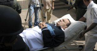 صور خبر وفاة محمد حسني مبارك