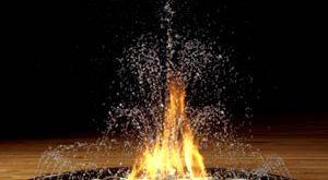 صورة لماذا الماء يطفئ النار