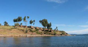 صورة اين تقع بحيرة تيتيكاكا