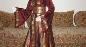 صورة قفطان مغربي للمحجبات