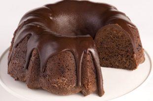صورة كيف عمل الكيك بالشوكولاته