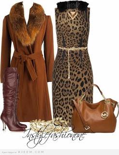 صورة اجمل ملابس المحجبات الشتوية
